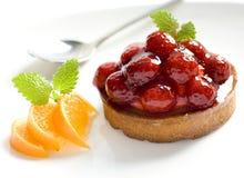 κέικ εύγευστο Στοκ Φωτογραφία