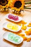 Κέικ ζελατίνας Στοκ φωτογραφία με δικαίωμα ελεύθερης χρήσης