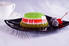 Κέικ ζελατίνας Στοκ εικόνα με δικαίωμα ελεύθερης χρήσης