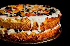 Κέικ θερινών μπισκότων Στοκ εικόνες με δικαίωμα ελεύθερης χρήσης