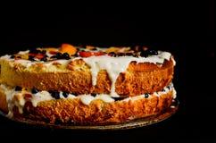 Κέικ θερινών μπισκότων Στοκ Εικόνες
