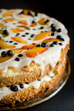 Κέικ θερινών μπισκότων Στοκ Εικόνα