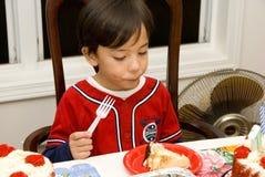 κέικ ι αγάπη Στοκ εικόνα με δικαίωμα ελεύθερης χρήσης