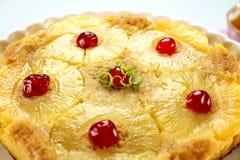 κέικ κάτω από την άνω πλευρά α&n Στοκ Φωτογραφίες