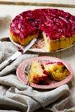 κέικ κάτω από την άνω πλευρά δ&a Στοκ φωτογραφία με δικαίωμα ελεύθερης χρήσης