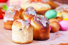 Κέικ και αυγά Πάσχας Στοκ Εικόνα
