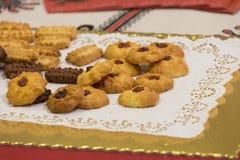 Κέικ και ζύμες, διάφοροι τύποι στοκ εικόνα με δικαίωμα ελεύθερης χρήσης