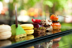 Κέικ και μπισκότα Στοκ Φωτογραφία