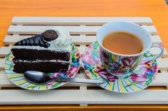 Κέικ και μπισκότα Στοκ Εικόνα