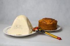 Κέικ και στάρπη Πάσχας Στοκ Φωτογραφίες