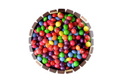 Κέικ καραμελών σοκολάτας στοκ φωτογραφίες