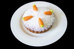 Κέικ καρότων Στοκ Φωτογραφίες