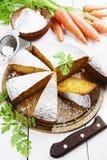 Κέικ καρότων Στοκ εικόνα με δικαίωμα ελεύθερης χρήσης