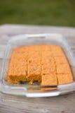 Κέικ καρότων στοκ φωτογραφία με δικαίωμα ελεύθερης χρήσης