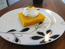 Κέικ καρότων Στοκ Εικόνες