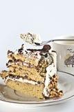 Κέικ καφέ Στοκ Εικόνες
