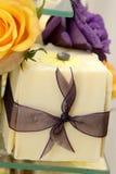 κέικ κιβωτίων Στοκ φωτογραφία με δικαίωμα ελεύθερης χρήσης