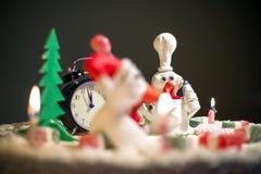Κέικ κοτών κέικ κοκκόρων, κέικ κοτόπουλου, κέικ πουλιών Στοκ Εικόνες