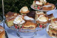 Κέικ, κουλούρια και cupcakes Στοκ Φωτογραφίες
