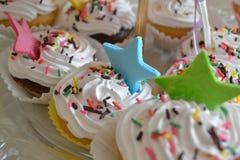 Κέικ κρέμας μπισκότων Στοκ Φωτογραφία