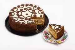 Κέικ κρέμας Στοκ Εικόνες