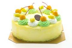 Κέικ μάγκο παγωτού στοκ φωτογραφίες με δικαίωμα ελεύθερης χρήσης