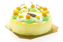 Κέικ μάγκο παγωτού στοκ εικόνες
