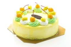 Κέικ μάγκο παγωτού στοκ φωτογραφίες