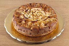 κέικ μήλων Στοκ εικόνες με δικαίωμα ελεύθερης χρήσης