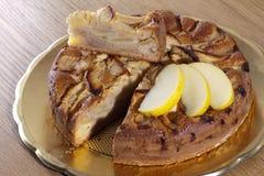 κέικ μήλων Στοκ Φωτογραφίες