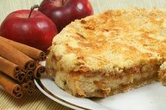 κέικ μήλων Στοκ Εικόνα