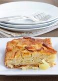 κέικ μήλων Στοκ φωτογραφίες με δικαίωμα ελεύθερης χρήσης