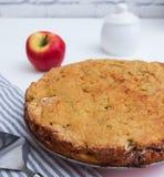 Κέικ μήλων Polenta Στοκ Εικόνα