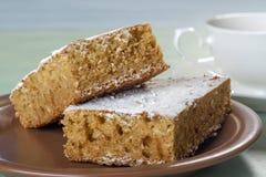 Κέικ μελιού Στοκ Εικόνα