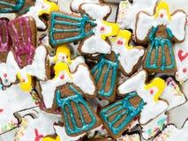 Κέικ μελοψωμάτων Χριστουγέννων στοκ εικόνα με δικαίωμα ελεύθερης χρήσης