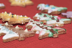 Κέικ μελοψωμάτων Στοκ φωτογραφία με δικαίωμα ελεύθερης χρήσης