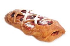 Κέικ με τα κεράσια Στοκ εικόνες με δικαίωμα ελεύθερης χρήσης