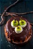Κέικ με τα μήλα Στοκ Εικόνες