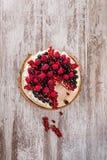 Κέικ με τα μούρα Στοκ εικόνες με δικαίωμα ελεύθερης χρήσης