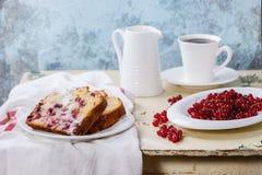 Κέικ με την κόκκινη σταφίδα Στοκ φωτογραφίες με δικαίωμα ελεύθερης χρήσης