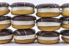 Κέικ με τον απαραίτητο souffle σωρό σοκολάτας Στοκ φωτογραφίες με δικαίωμα ελεύθερης χρήσης