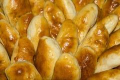 Κέικ με το ζαμπόν και τα κρεμμύδια Στοκ Εικόνα