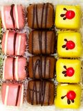κέικ μικρά Στοκ Εικόνες