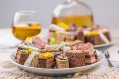 κέικ μικρά Στοκ εικόνα με δικαίωμα ελεύθερης χρήσης