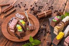 κέικ μικρά Στοκ Φωτογραφία
