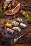 κέικ μικρά Στοκ Φωτογραφίες