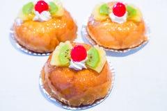 κέικ μικρό Στοκ Εικόνες