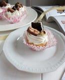 Κέικ μούρων επιδορπίων Στοκ εικόνες με δικαίωμα ελεύθερης χρήσης