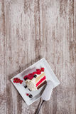 Κέικ μούρων Στοκ Εικόνες
