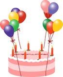 Κέικ μπαλονιών Στοκ Εικόνες